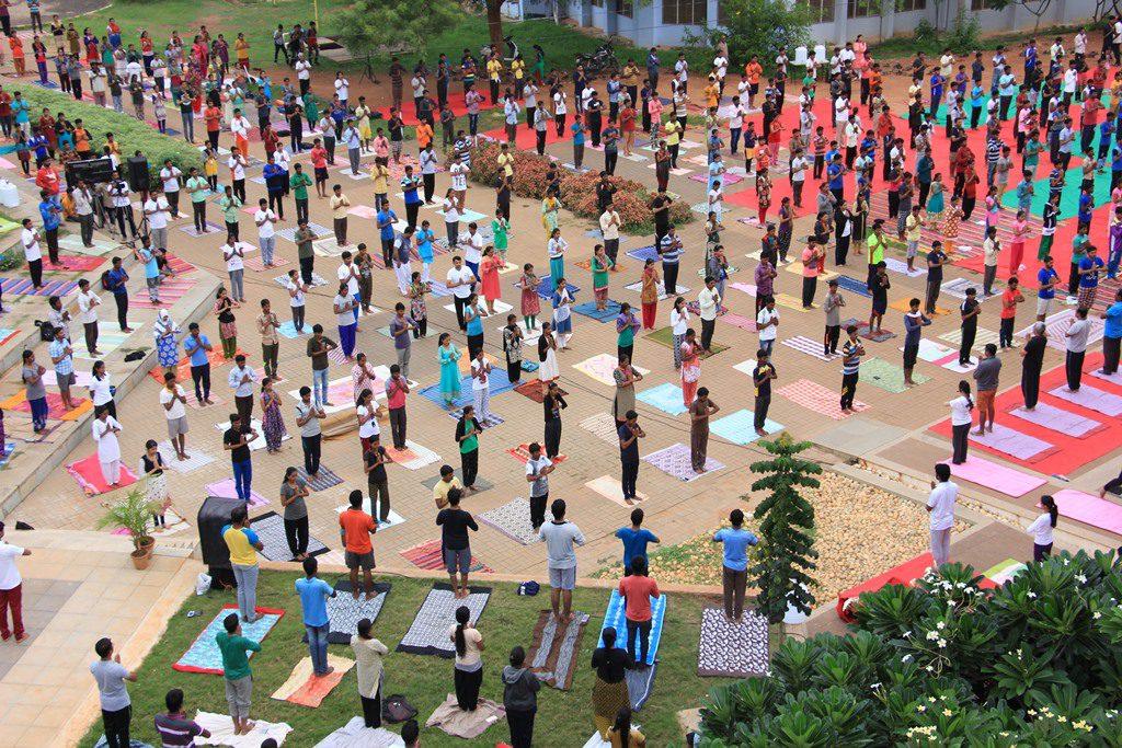 International Yoga Day at Deshpande Foundation