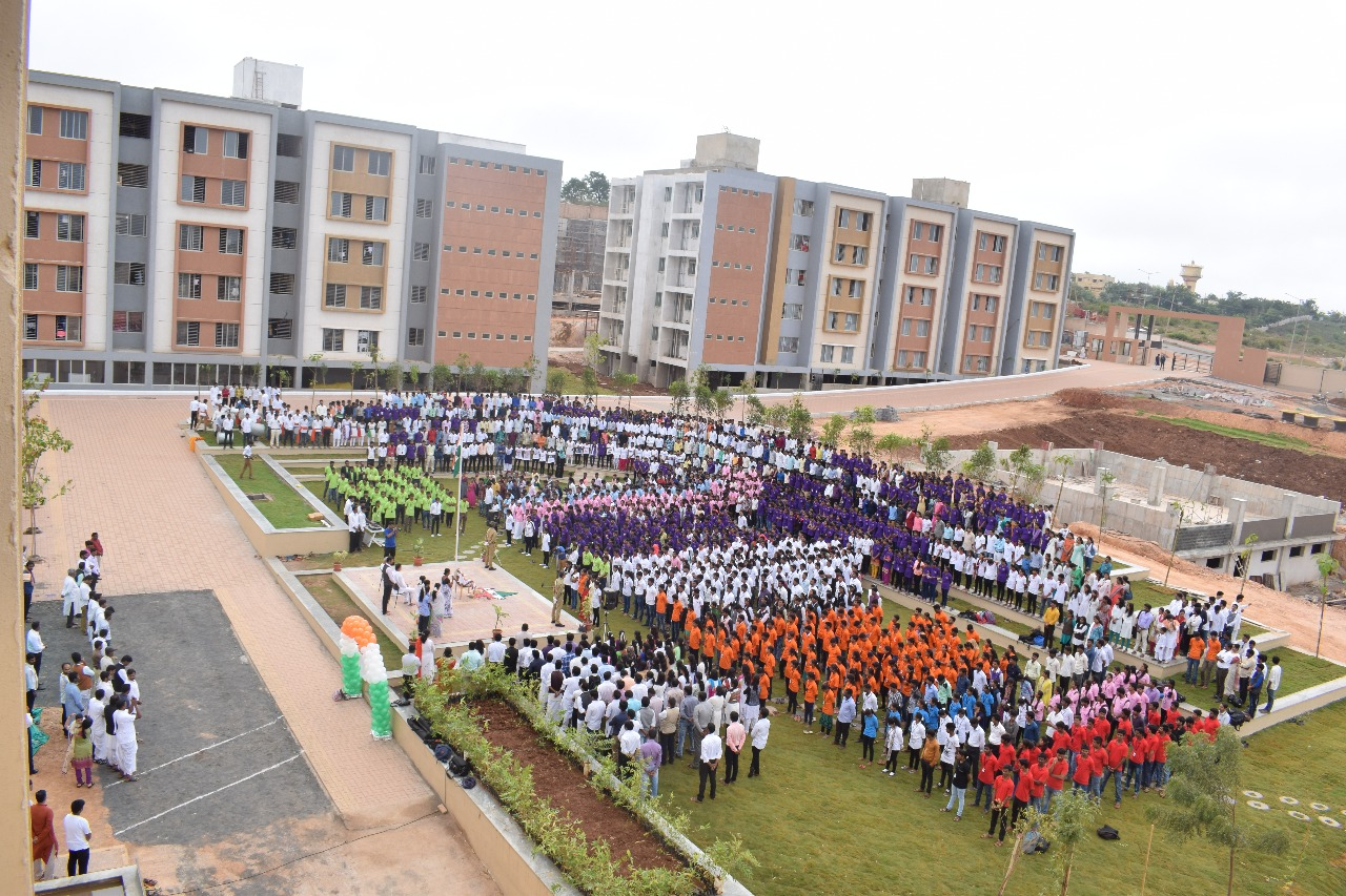 Independence Day celebration at India's largest skill development center
