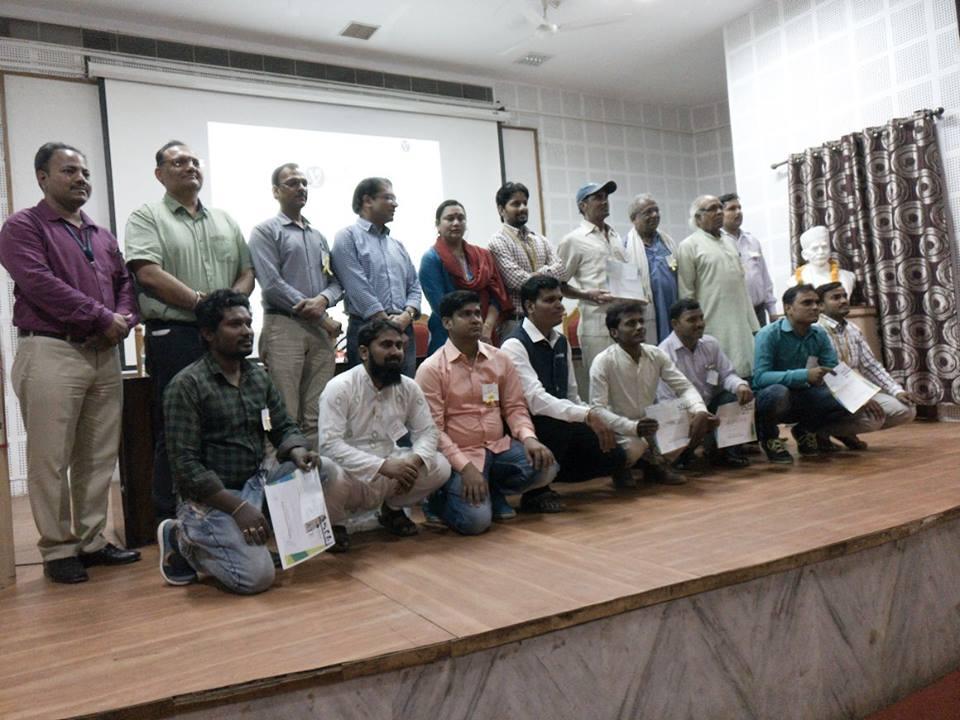 Best five Navodyamis were awarded at the 'Navodyami Summit' held at Varanasi.