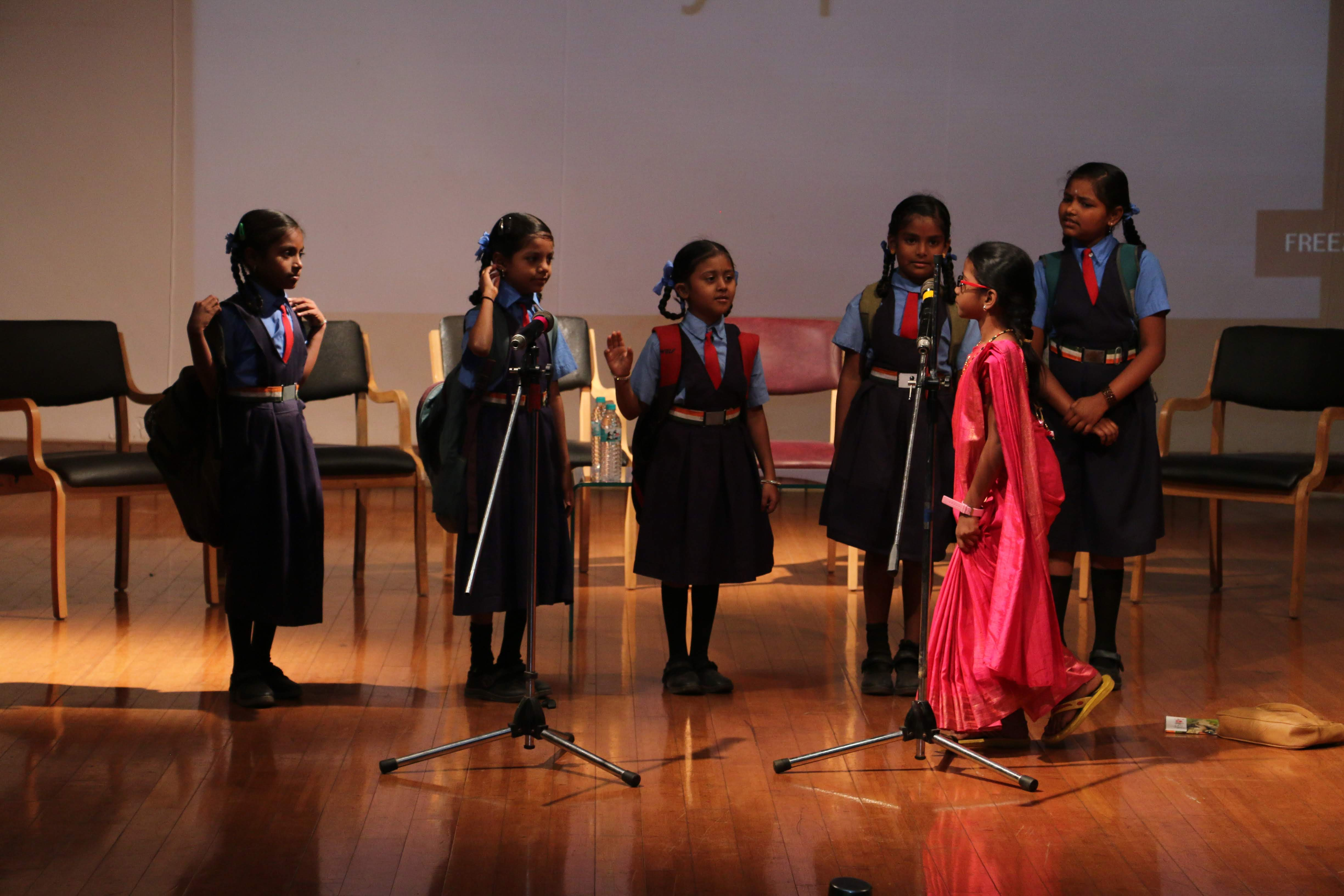 Skit by EarlySpark students