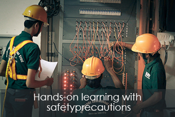 Deshpande Skilling safety precautions