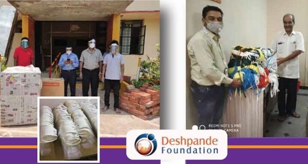 Deshpande Foundation harnesses resources to support Covid-19 crisis efforts