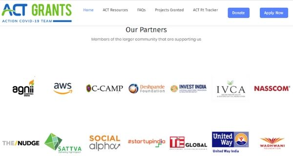 Deshpande Foundation partners with ACT Grants who are funding startups