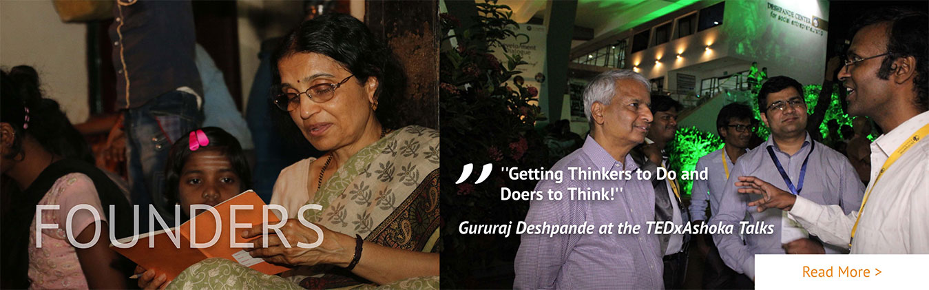 TEDxAshokaU - Desh Deshpande - Getting Thinkers to Do and Doers to Think